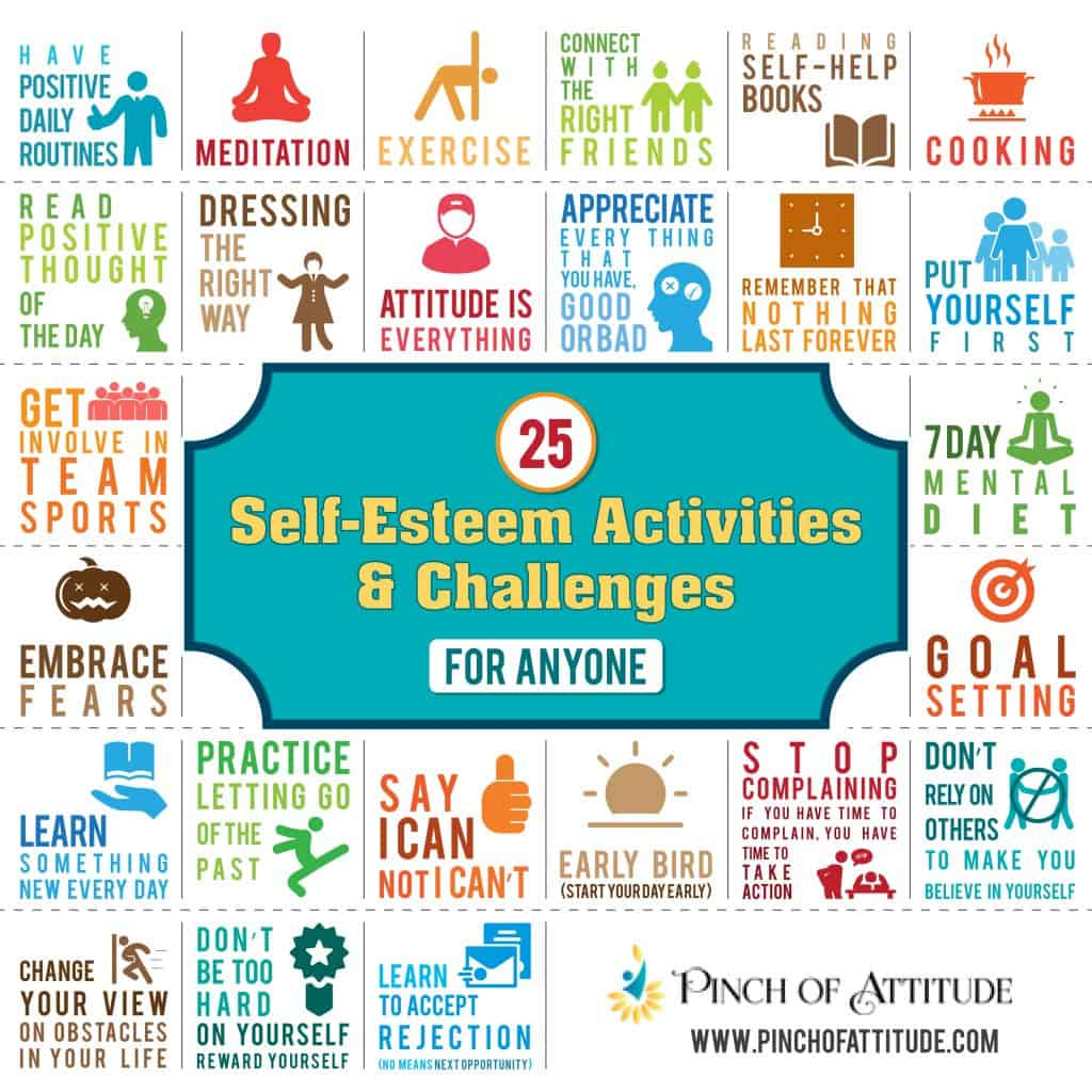 25 Self-Esteem Activities and Challenges For Anyone
